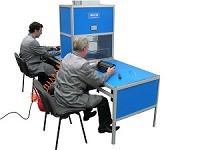 Для основного элемента рабочего места заправщика картриджей на основе АБСТ1-ЭМ, разработана система пневмо очистки предварительных фильтров!
